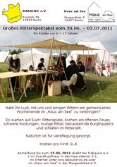 Ritterspektakel 2010